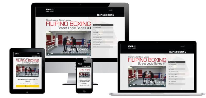 GM Rene Latosa Filipino Boxing Onlinekurs